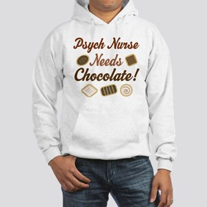 Psych Nurse Gift Funny Hooded Sweatshirt
