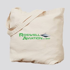 Roswell Aviation Tote Bag