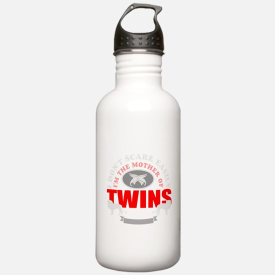 brave mother of twins.png Water Bottle