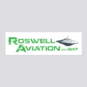 Roswell Aviation 36x11 Wall Decal