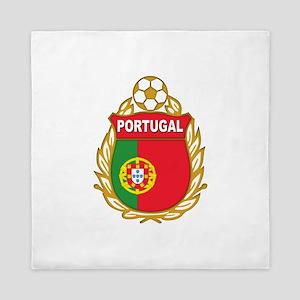 Portugal World Cup Soccer Queen Duvet