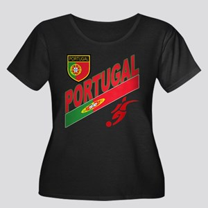 Portugal World Cup Soccer Women's Plus Size Scoop