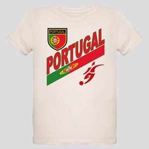 Portugal World Cup Soccer Organic Kids T-Shirt