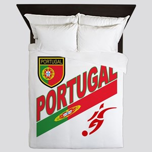 Portugal World Cup Soccer Queen Duvet