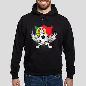 Portugal World Cup Soccer Hoodie (dark)