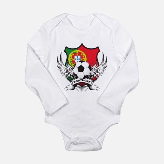 Portugal World Cup Soccer Long Sleeve Infant Bodys