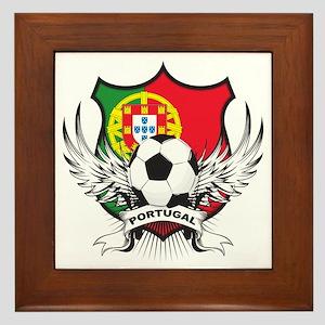 Portugal World Cup Soccer Framed Tile