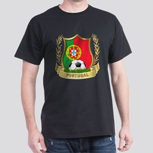 Portugal World Cup Soccer Dark T-Shirt