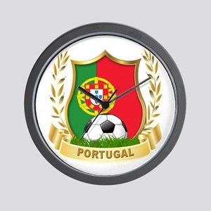 Portugal World Cup Soccer Wall Clock
