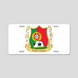 Portugal World Cup Soccer Aluminum License Plate