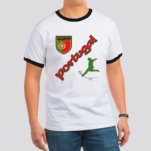 Portugal World Cup Soccer Ringer T