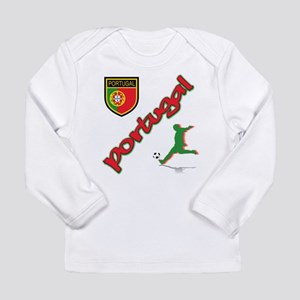 Portugal World Cup Soccer Long Sleeve Infant T-Shi