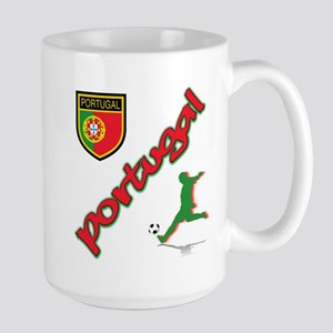 Portugal World Cup Soccer Large Mug