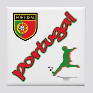 Portugal World Cup Soccer Tile Coaster