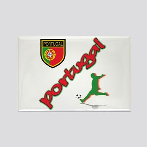 Portugal World Cup Soccer Rectangle Magnet