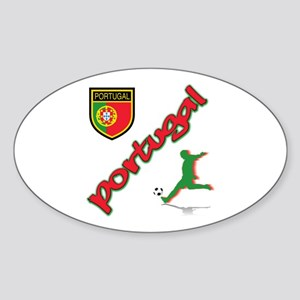 Portugal World Cup Soccer Sticker (Oval)