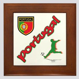 Portugal World Cup Soccer Framed Tile