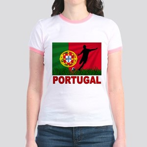 Portugal World Cup Soccer Jr. Ringer T-Shirt