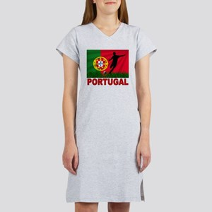 Portugal World Cup Soccer Women's Nightshirt