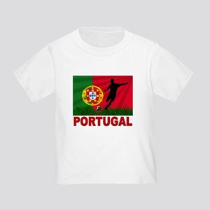 Portugal World Cup Soccer Toddler T-Shirt