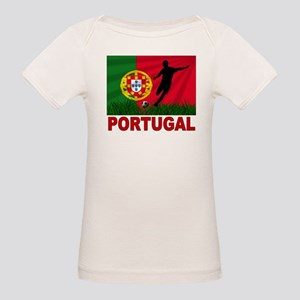 Portugal World Cup Soccer Organic Baby T-Shirt