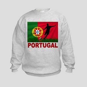 Portugal World Cup Soccer Kids Sweatshirt