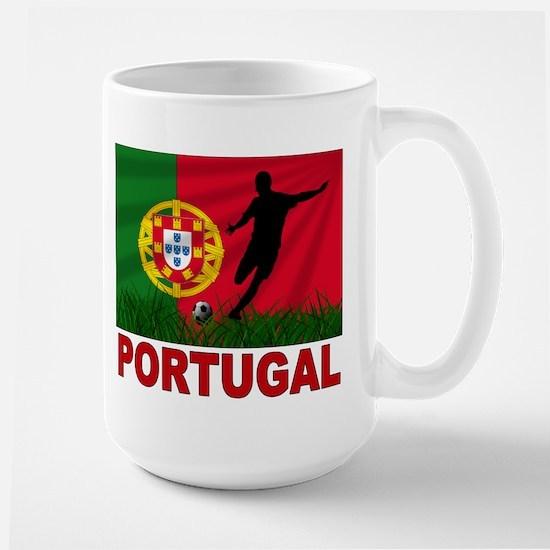 Portugal World Cup Soccer Large Mug