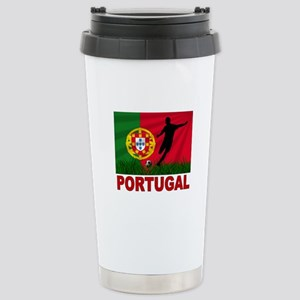 Portugal World Cup Soccer Stainless Steel Travel M