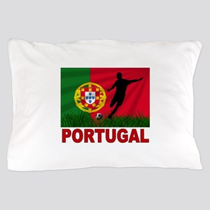 Portugal World Cup Soccer Pillow Case