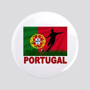"Portugal World Cup Soccer 3.5"" Button"