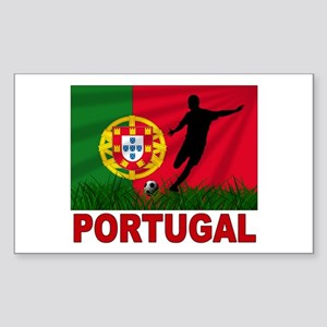 Portugal World Cup Soccer Sticker (Rectangle)