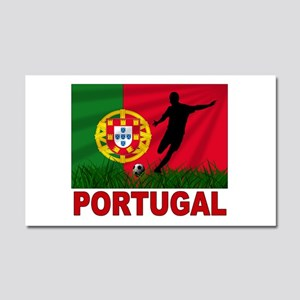 Portugal World Cup Soccer Car Magnet 20 x 12