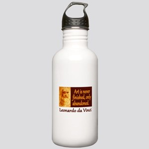 Da Vinci Quote Stainless Water Bottle 1.0L