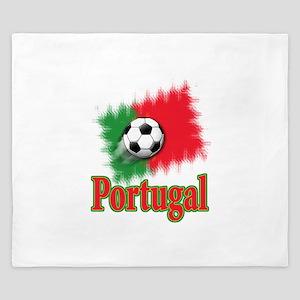 Portugal World Cup Soccer King Duvet
