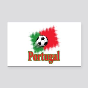 Portugal World Cup Soccer Rectangle Car Magnet