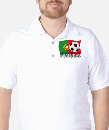 Portugal World Cup Soccer Golf Shirt