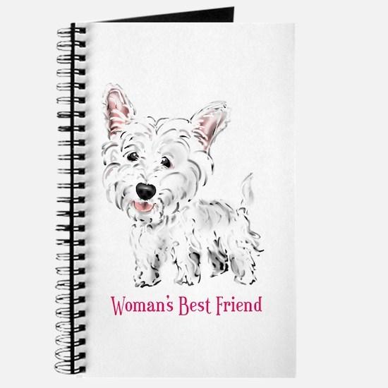 Woman's Best Friend Westie Journal