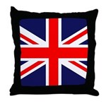 British Flag Throw Pillow
