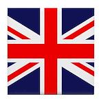 British Flag Tile Coaster