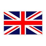 British Flag 20x12 Wall Decal
