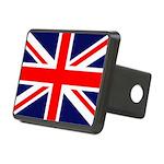 British Flag Rectangular Hitch Cover