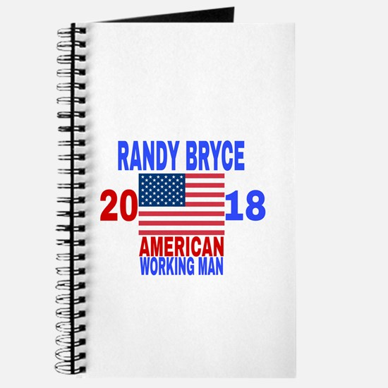RANDY BRYCE 2018 Journal