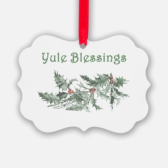 Yule Blessings Ornament