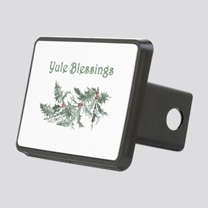 Yule Blessings Rectangular Hitch Cover