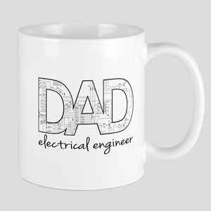 Father's Day.Dad electrical engineer. Mug