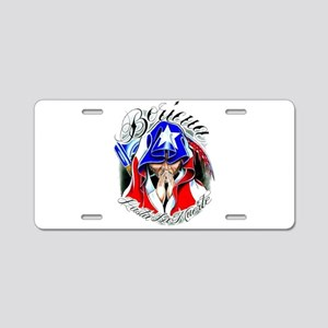 BORI Aluminum License Plate