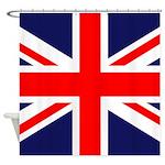 British Flag Shower Curtain