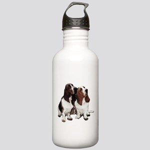 Basset Hounds Stainless Water Bottle 1.0L