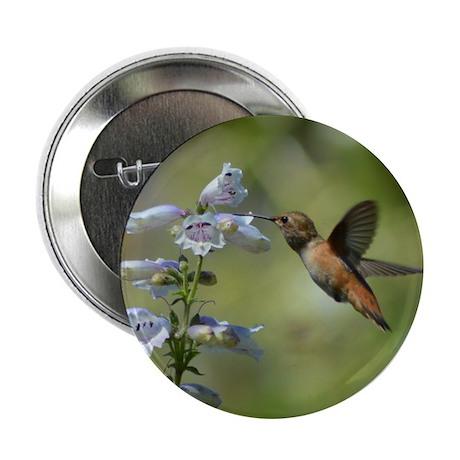 """Hummingbird 4851 - 2.25"""" Button (10 pack)"""