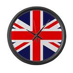 British Flag Large Wall Clock